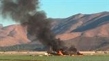 Máy bay chiến đấu Mỹ gặp nạn gần căn cứ hải quân