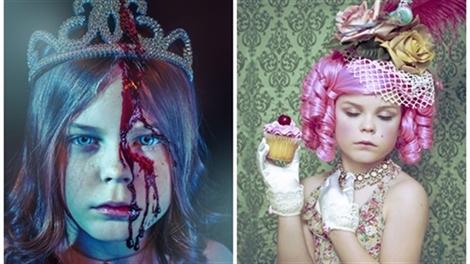 Sốc với màn hóa thân ấn tượng của cô bé 9 tuổi nhân ngày Halloween