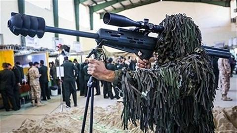 Iran chính thức trình làng súng bắn tỉa chống trực thăng