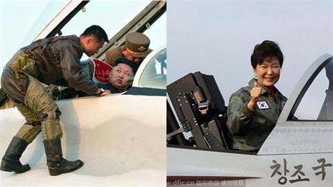 Lãnh đạo tối cao Hàn-Triều ra oai trên chiến đấu cơ