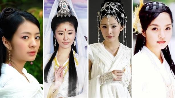Những mỹ nhân Hoa ngữ 'hút mắt' trong trang phục màu trắng