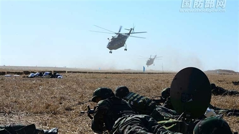 Ý đồ hơn 2 tháng động binh rất lớn của Trung Quốc