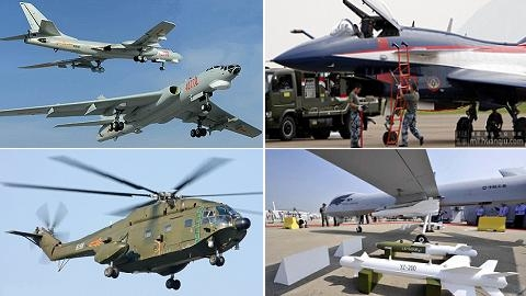 "Không quân TQ trổ ""thần oai"" tại Chu Hải Airshow 2014"