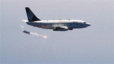 Độc đáo hệ thống đánh chặn trên máy bay dân dụng Israel
