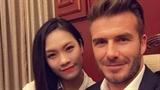 Bức ảnh cô gái Việt chụp ảnh cùng Beckham gây sốt