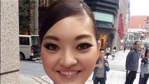 Ngắm Hoa hậu Nhật 2014 bị chê xấu như phẫu thuật hỏng