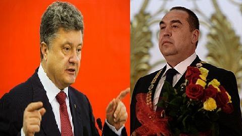 """Lãnh đạo ly khai """"thách đấu tay bo"""" với Tổng thống Ukraine"""