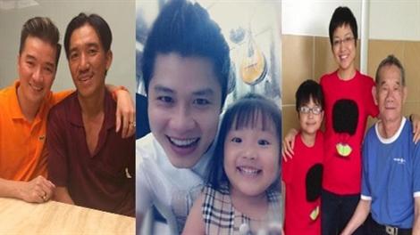 Cảm động những câu chuyện tìm người thân qua Facebook của sao Việt