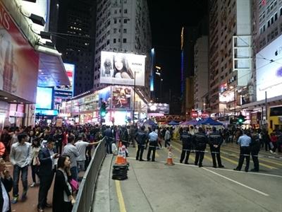 Xuất hiện dấu hiệu lạ liên quan tới biểu tình ở Hong Kong