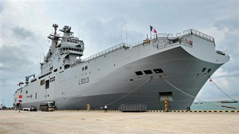 Thương vụ Mistral: Pháp tiếp tục lúng túng chiều Nga