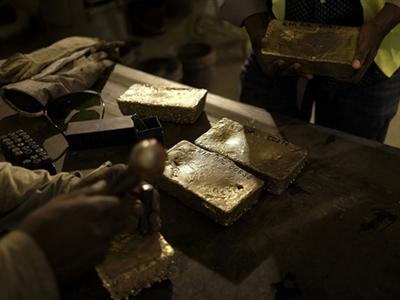 Ngành khai mỏ vàng đang rất khó khăn