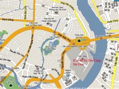 Nâng cấp và mở thêm đường nối Tân Cảng với trung tâm TPHCM