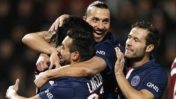 Metz 2-3 PSG: Chiến thắng nghẹt thở