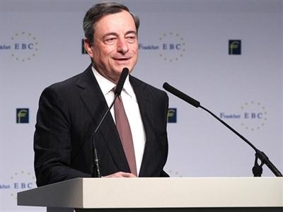 ECB cam kết tăng cường kích thích để thúc đẩy lạm phát