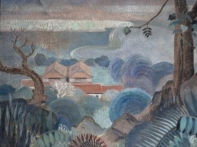 Bức sơn dầu của họa sĩ Việt có giá kỷ lục 840.000 USD tại Christie's International