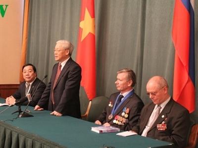 Hoạt động của Tổng Bí thư Nguyễn Phú Trọng tại Liên bang Nga