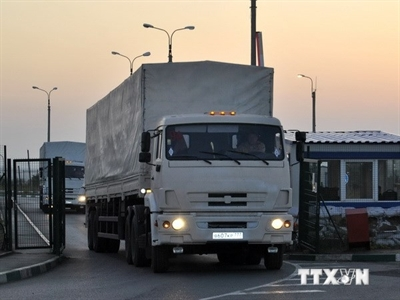 85 phương tiện chở vũ khí hạng nặng của Nga tiến vào Ukraine