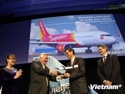 Vietjet chính thức sở hữu chiếc máy bay Airbus A320 đầu tiên