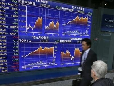 Chứng khoán châu Á giảm do dầu và đồng yên mất giá