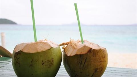 Nước dừa - tiên dược phòng the giá siêu rẻ