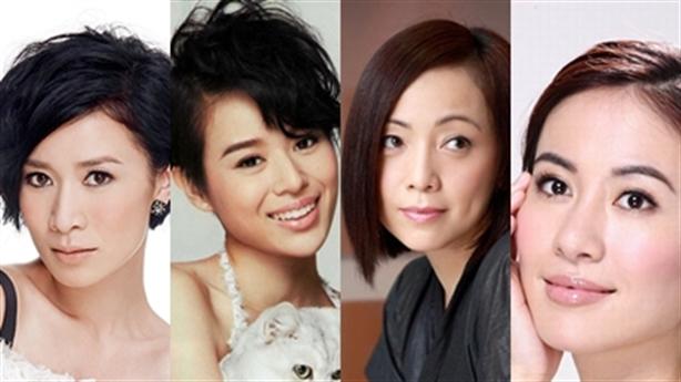 7 nữ diễn viên TVB tấn công màn ảnh Đại Lục