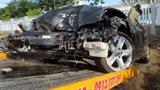CSGT lái BMW gây tai nạn: Xe mang BKS giả