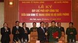 Ban Kinh tế TƯ và Bộ Quốc phòng phối hợp công tác