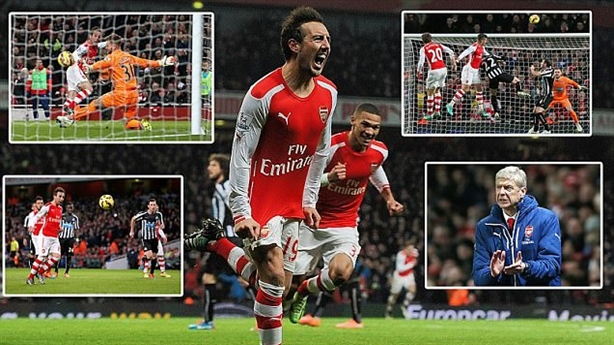 Highlights: Arsenal 4-1 Newcastle