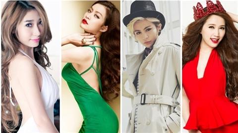 5 nữ ca sỹ từ chối dao kéo đẹp nhất VPop