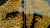 Phát hiện miếng vàng hình rồng và hoa sen ở Hoàng thành