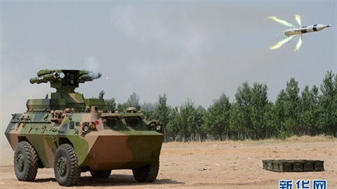 Tên lửa HJ-9A có thể 'nướng chín' tăng T-90 Ấn Độ?