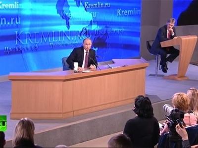 Trực tiếp họp báo của Putin: Trung Quốc là đối tác thương mại chính của Nga