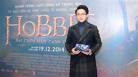 Á Vương Hữu Vi 'hút hồn' với gout thời trang tinh tế trên thảm đỏ The Hobbit