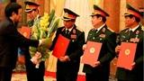 4 cán bộ cấp cao được phong hàm Thượng tướng