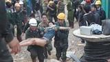 Hình ảnh 12 nạn nhân được cứu khỏi hầm thủy điện