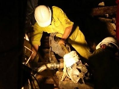 Sập hầm thủy điện Đạ Dâng: Đã khoan thủng đến đoạn hầm bị sập