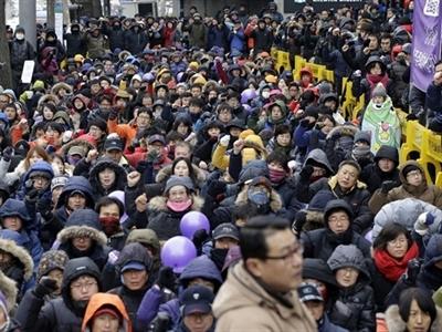 Hàn Quốc lần đầu tiên trong lịch sử cấm đảng chính trị