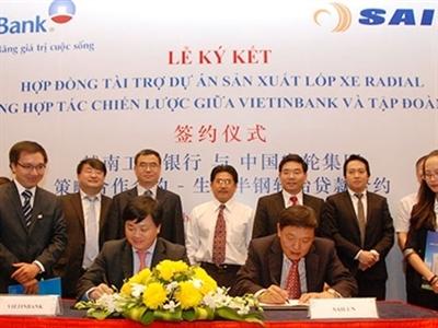 VietinBank đầu tư 64 triệu USD sản xuất lốp xe Radial