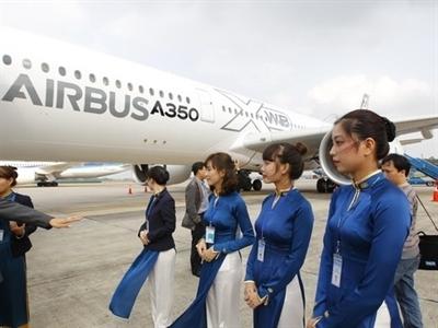 Lễ ký kết hợp đồng tín dụng Vietcombank và Vietnam Airlines