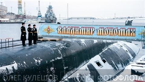 Hải quân Nga nhận tàu ngầm quái vật 'vô hình' với Mỹ