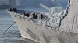 Chiến hạm từng tới Việt Nam 'chết cứng' trên đất Nga