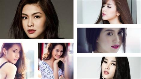 Những nét đẹp 'hút hồn' trên gương mặt sao Việt