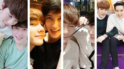 Những khoảnh khắc ngọt ngào của cặp đôi đồng tính hot nhất Thái lan