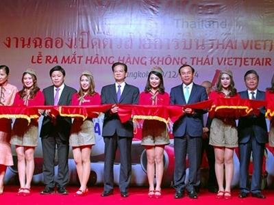 Ra mắt Hãng hàng không Liên doanh Thai Vietjet