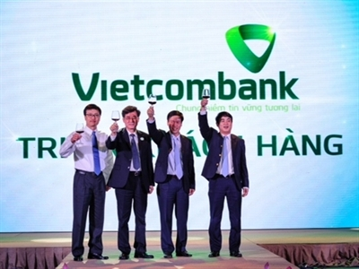 Vietcombank chiếm gần 10% thị phần tín dụng TP.HCM