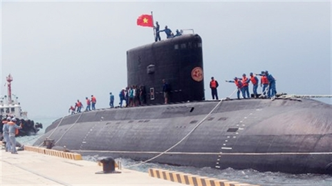 5.000 giờ huấn luyện của Lữ đoàn tàu ngầm 189