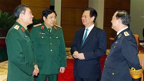 Thủ tướng yêu cầu quân đội diễn tập sẵn sàng chiến đấu