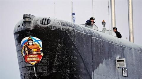 Tàu ngầm Vladimir Monnomakh Nga thức giấc nhận nhiệm vụ