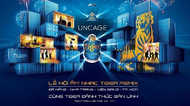Tiger Remix 2015: Hội ngộ các tên tuổi lớn