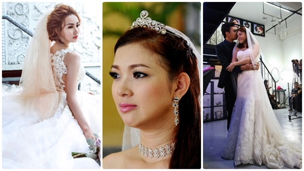 Top 4 cô dâu bất ngờ 'được' lên xe hoa đầu năm 2015